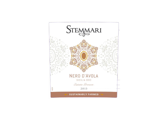 Nero dAvola label